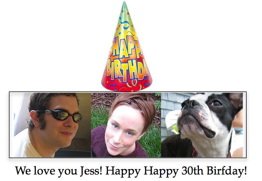 Jess is old!